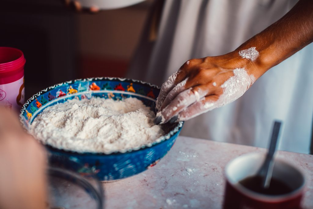 Hands in Flour By simbiothy